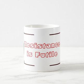 Resistance is Futile Classic White Coffee Mug