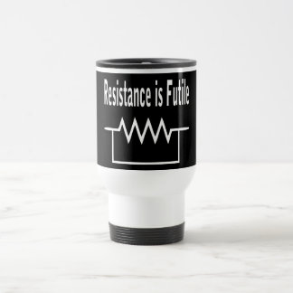 Resistance is Futile Travel Mug