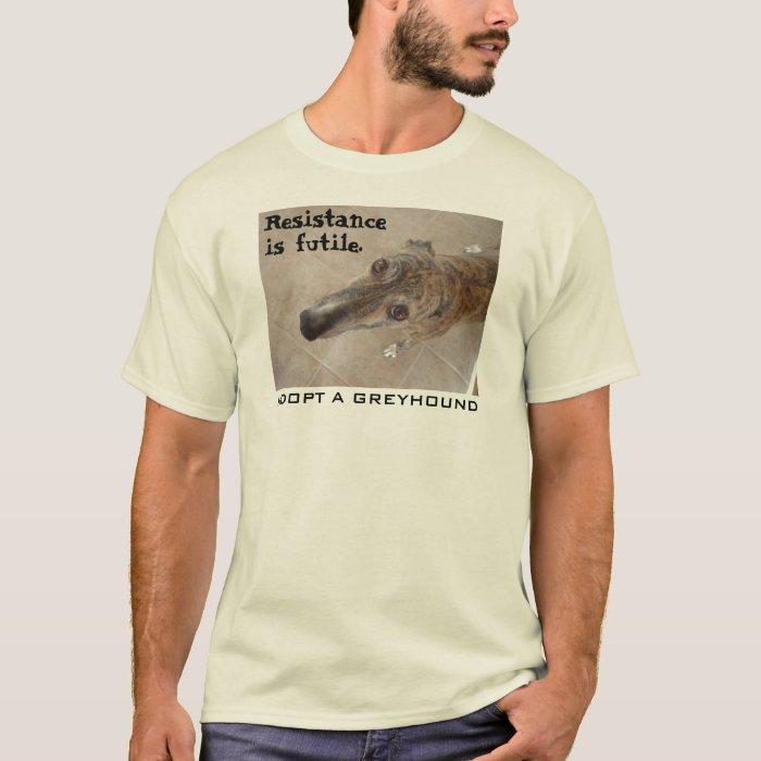Resistance is futile. (v. 2-for light apparel) T-Shirt