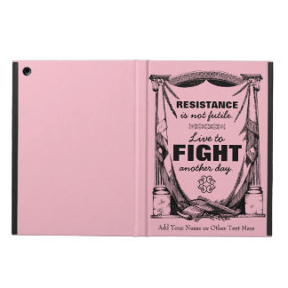 Resistance Is Not Futile Live to Fight Another Day Cover For iPad Air