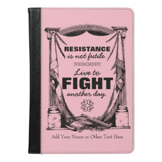 Resistance Is Not Futile Live to Fight Another Day iPad Air Case