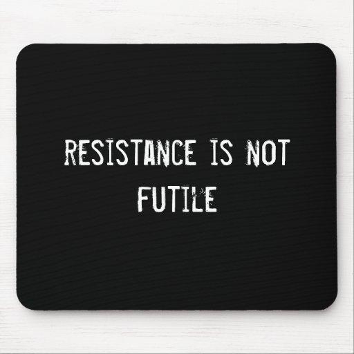 resistance is not futile mouse mats