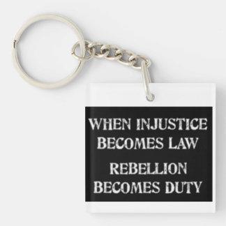 Resistance Keychain