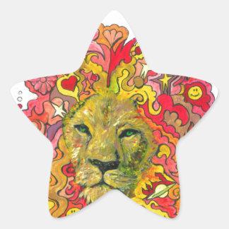 Resistance Lion Star Sticker