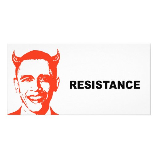 Resistance Photo Card