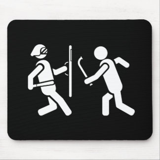 Resistance Pictogram Mousepad