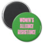 Resistencia de Alliance de las mujeres Imanes Para Frigoríficos