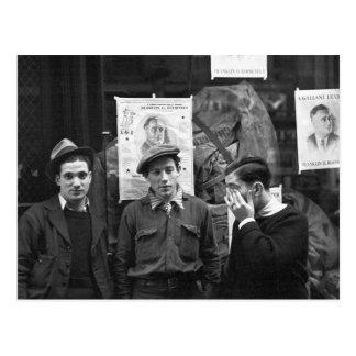 Resistencias de la calle para el FDR 1936 Postales