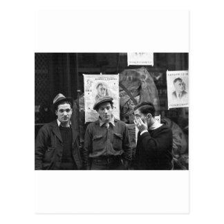 Resistencias de la calle para el FDR: 1936 Postal