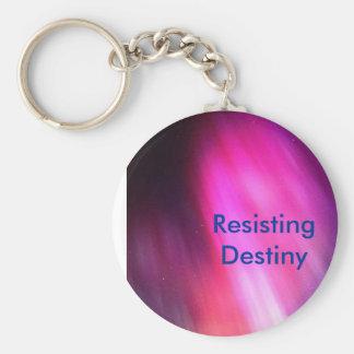 Resisting Destiny Basic Round Button Keychain