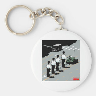Resisting Tyrannical Government Basic Round Button Keychain