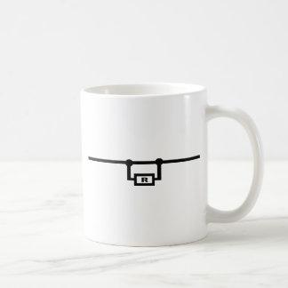 resistor aimless classic white coffee mug