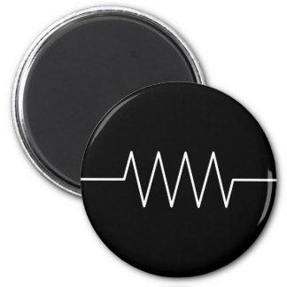 resistor_black refrigerator magnet