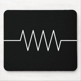 resistor_black mouse pad