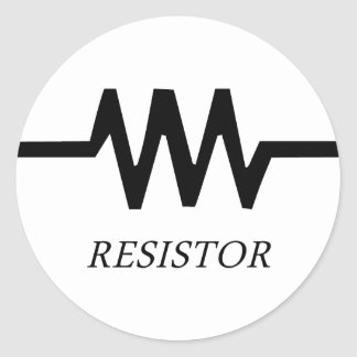 Resistor Pegatina Redonda