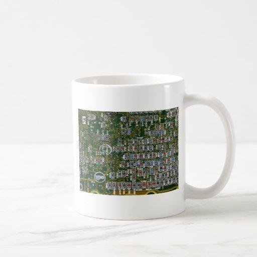 Resistors on a Circuit Board Coffee Mug