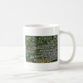 Resistors on a Circuit Board Classic White Coffee Mug