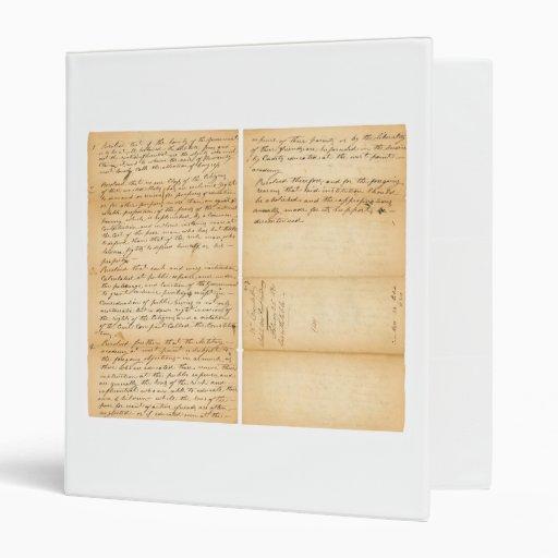 Resolución 1830 de West Point de Davy Crockett