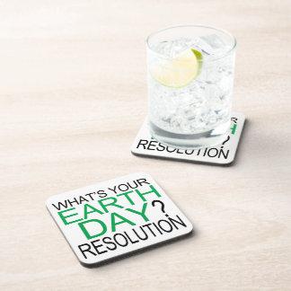 Resolución del Día de la Tierra Apoyavasos