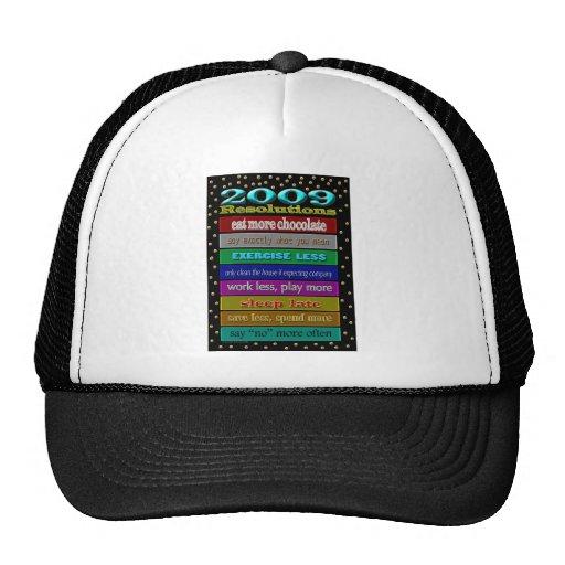 resoluciones 2009 gorras