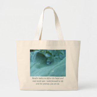 Resolution Large Tote Bag