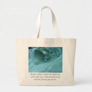 Resolution Large Tote Bag