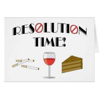 Resolution Time Card