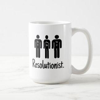 Resolutionist Funny Coffee Mugs