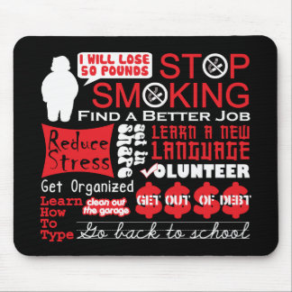 Resolutions Mouse Pad
