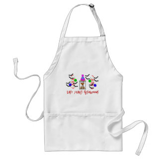 Resolutions Past Adult Apron