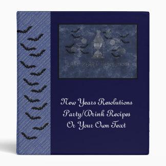 Resolutions Past Binder