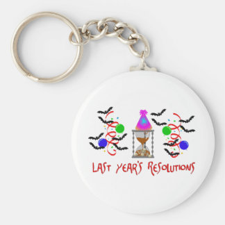 Resolutions Past Key Chains