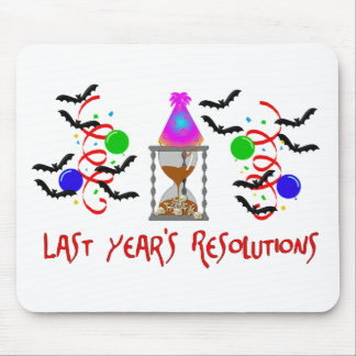 Resolutions Past Mouse Pad