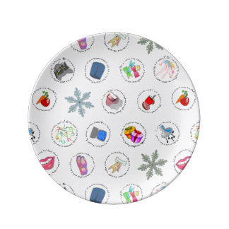 Resolutions Porcelain Plate