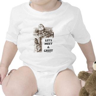 Resolvamos y saludemos el país de las maravillas traje de bebé