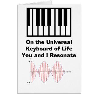 Resonance 2, keyboard, On the Universal Keybo... Card
