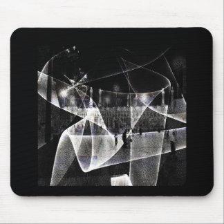 Resonance area mouse pad