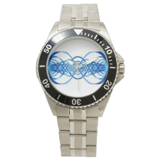 Resonance wave men's watch