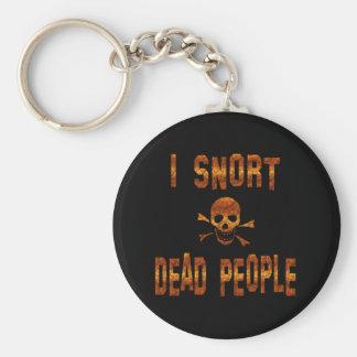 Resoplo gente muerta llavero personalizado