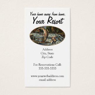 Resort Customize Business Card