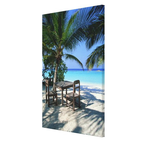 Resort Image Canvas Print