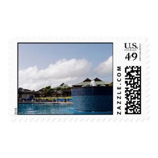 Resort Themed Stamp