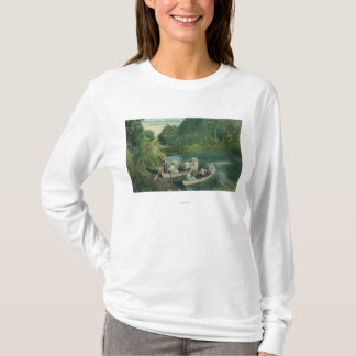 Resorters Boating at the Springs T-Shirt