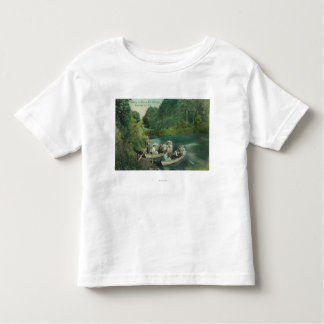 Resorters Boating at the Springs Toddler T-shirt