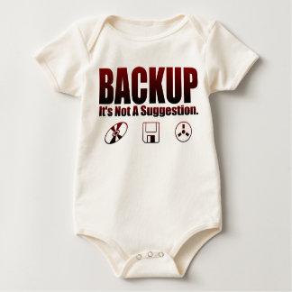 ¡Respaldo! Body Para Bebé