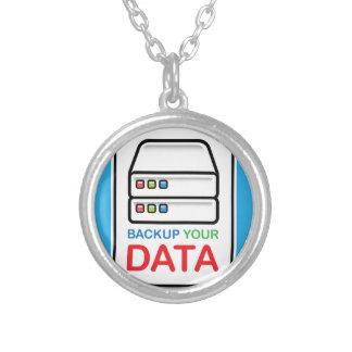 Respaldo su muestra de los datos con las colgante redondo