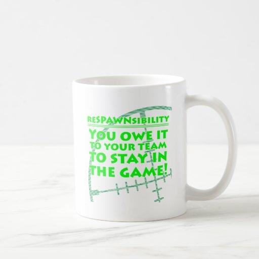 Respawnsibility - FPS Coffee Mug