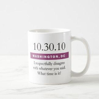 Respecfully discrepo taza de café