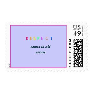 RESPECT - 2010 POSTAGE