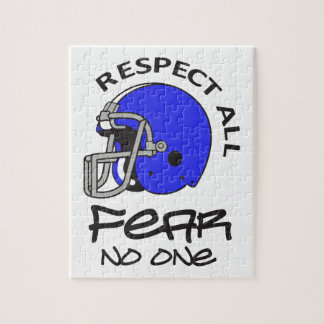 RESPECT ALL FEAR NO ONE PUZZLES